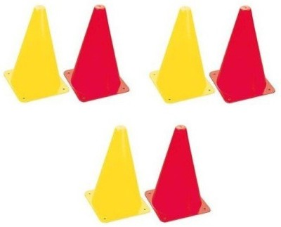 HE Retail Space Marker Pack of 6(Red, Yellow 6)