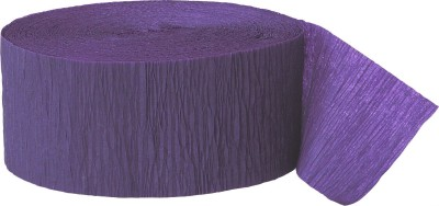 GrandShop Streamer(Purple, Pack of 4)