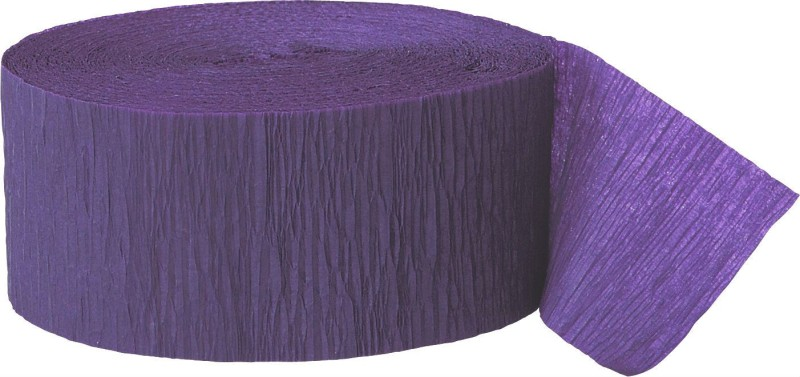 GrandShop Streamer(Purple, Pack of 4)