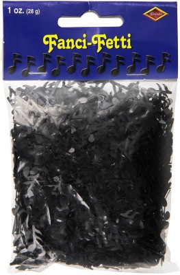 Beistle Confetti(Black, Pack of 1)
