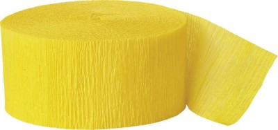 GrandShop Streamer(Yellow, Pack of 4)