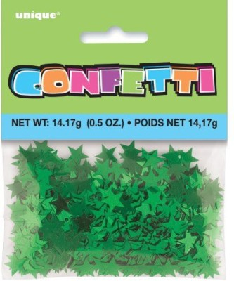 Unique Confetti(Green, Pack of 1)