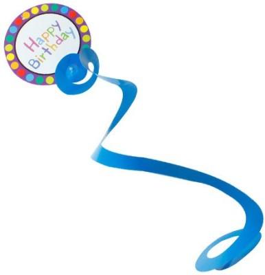 Smartcraft Dangling Swirls Happy Birthday Streamer