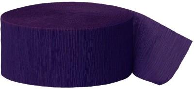 MyBirthdaySupplies Streamer(Purple, Pack of 6)
