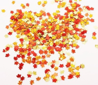 Creative Converting Confetti(Orange, Red, Pack of 100)