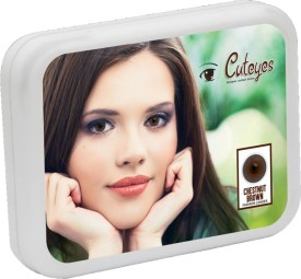 Cuteyes Brown Monthly Contact Lens