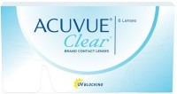 Acuvue Clear Fresh Stock New MRP -0.75 Pwr By Visions India Monthly Contact Lens(-0.75, Clear, Pack of 6) best price on Flipkart @ Rs. 899
