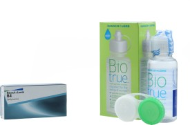 Bausch & Lomb B4 with Biotrue 60ml Solution by Visions India Yearly Contact Lens
