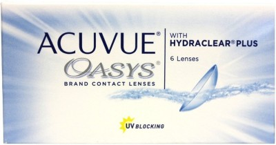 Acuvue Oasys -10.00 Pwr By Visions India Bi-weekly Contact Lens(-10.00, Clear, Pack of 6)