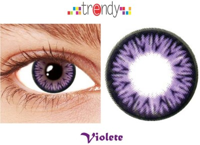 Trendy Violet Monthly Contact Lens
