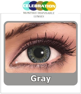Celebration Grey Monthly Contact Lens