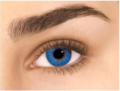 Sparkle Blue Monthly Contact Lens