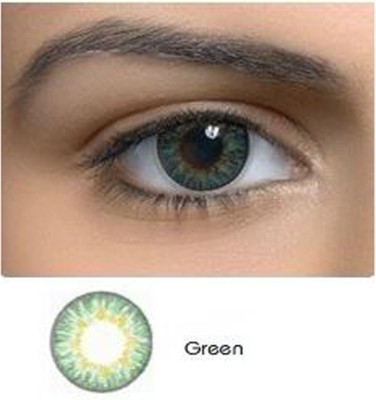 Netra Eco Attitude Green Contact Lenses Monthly Contact Lens