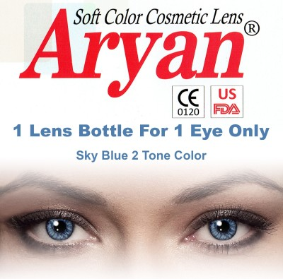 Aryan 2 Tone Contact Lens By Visions India Yearly Contact Lens