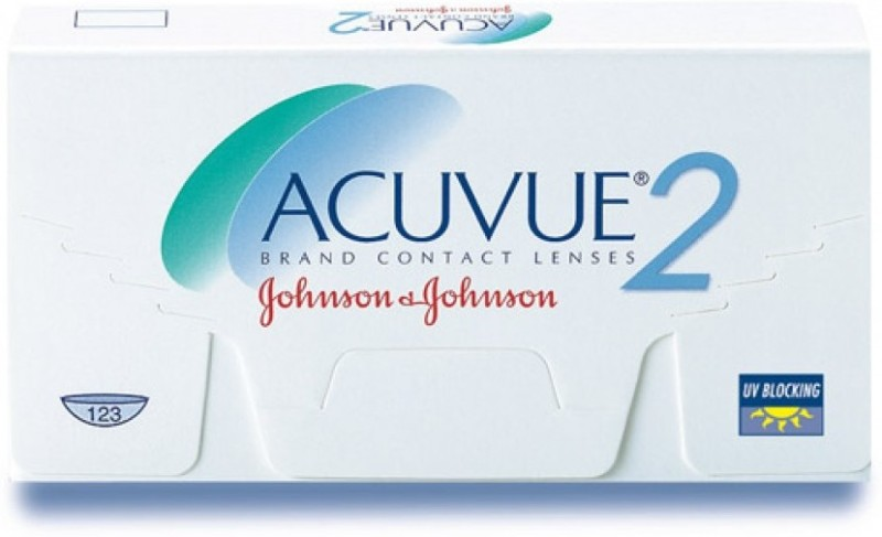 Johnson & Johnson ACUVUE 2 -10.00 Bi-weekly Contact Lens(-10, Transparent, Pack of 6)