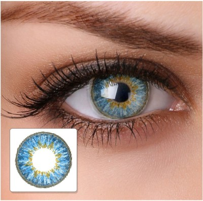 Netra Ultravision Ocean Aqua Contact Lenses Monthly Contact Lens