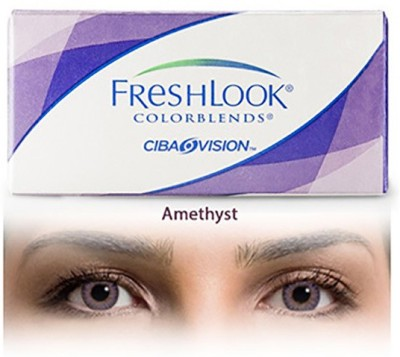 Ciba Vision Freshlook Colorblends Amethyst By Visions India Monthly Contact Lens
