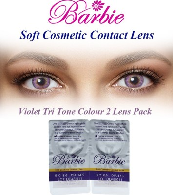 Barbie Tri Tone 0.00 Power By Visions India Monthly Contact Lens