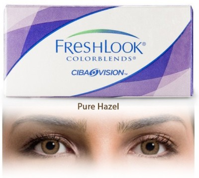 Ciba Vision Freshlook Colorblends Pure Hazel By Visions India Monthly Contact Lens