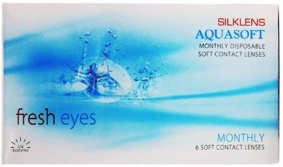 Aquasoft Silklens Monthly Contact Lens