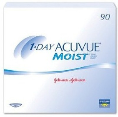 Johnson & Johnson Acuvue Moist 1 Day 90 Pack Daily Contact Lens