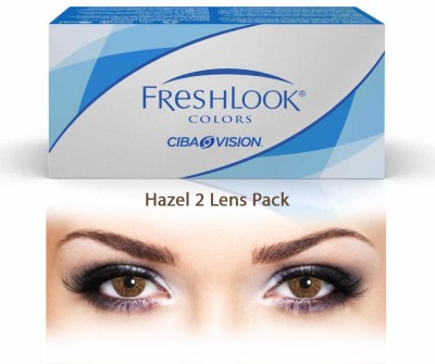 Ciba Vision Freshlook Colors HazelBy Visions India Monthly Contact Lens