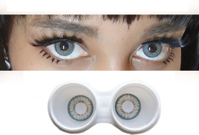 Trendy Grey Monthly Contact Lens