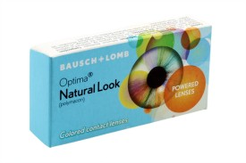 Bausch & Lomb New Natural Look Hazel Color By Visions India 3 Quaterly Contact Lens(-1.50, Hazel, Pack of 2)