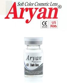 Aryan Tri Tone Dark Grey By Visions India Yearly Contact Lens