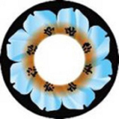 Eye Attractions Marine Flower Yearly Contact Lens