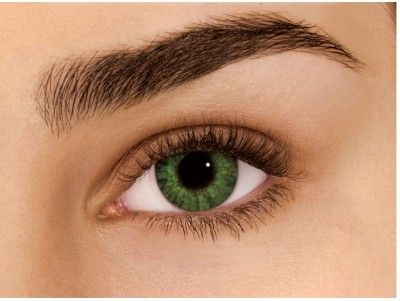 Sparkle Green Monthly Contact Lens
