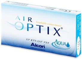 Ciba Vision AirOptixAqua_-3.00 Monthly Contact Lens