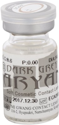 Aryan 2 Tone Grey Yearly Contact Lens