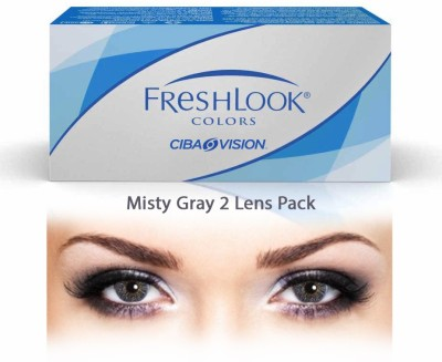 Ciba Vision Freshlook Colors Misty GrayBy Visions India Monthly Contact Lens