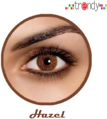 Trendy Hazel Monthly Contact Lens