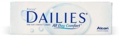 Ciba Vision Focus Dailies Daily Contact Lens(-1.5, Transparent, Pack of 30)