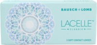 Bausch & Lomb Lacelle Classic Grey With Lens Case By VisionsIndia Monthly Contact Lens(-4.25, Grey, Pack of 2)