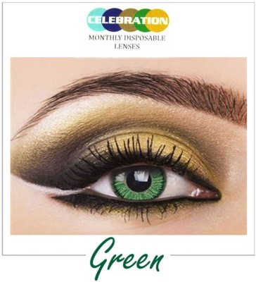 Celebration Green Monthly Contact Lens
