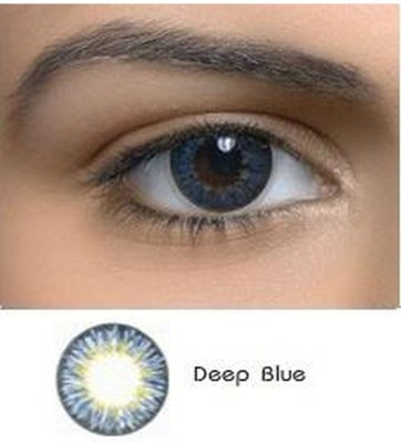 Netra Netra Vivacious Deep Blue Contact Lenses Monthly Contact Lens