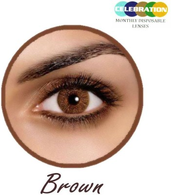 Celebration Brown Monthly Contact Lens