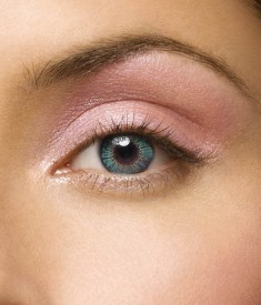 GLAMOUR EYE TRI-TONE COOL-TURQUOISE (MONTHLY DISPOSABLE OR 90 TIMES WEARING) Monthly Contact Lens