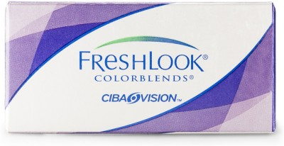 Ciba Vision FreshLook Color Blends Monthly Contact Lens(0.00, Grey, Pack of 2)