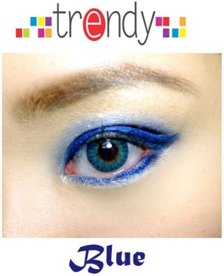 Trendy Deep Blue Monthly Contact Lens