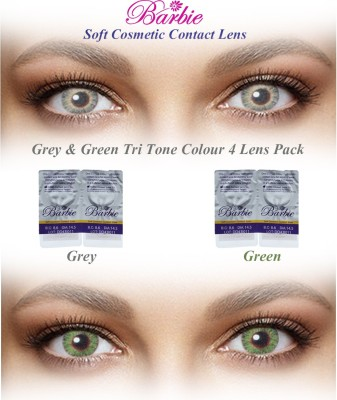 Barbie Tri Tone Zero Power By Visions India Monthly Contact Lens