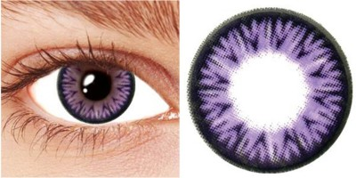 Netra Color Contact Lens Violet Monthly Contact Lens