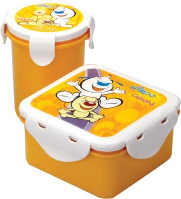 Pratap Hyper Locked Gift Set Junior  - 310 ml, 450 ml Plastic Food Storage