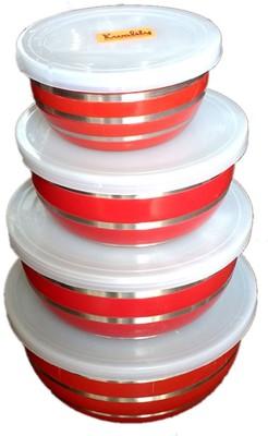 Abee Durable Designer Bowl  - 1 L Stainless Steel Food Storage