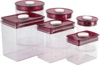 Chrome    1000 ml  2000 ml  3000 ml Plastic Food Storage