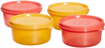 Tupperware Tropical twins  - 250 ml Plastic Food Storage(Pack of 4, Multicolor)