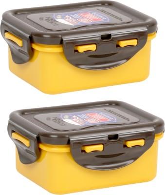 Lock & Lock  - 180 ml, 180 ml Polypropylene Food Storage(Pack of 2, Yellow, Brown) at flipkart
